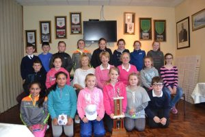 Junior Golfers - President's Prize 2017