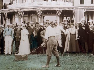 Harry Vardon at Poland Springs 1900